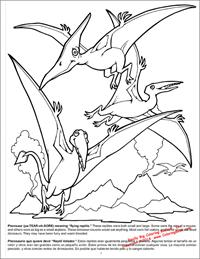 Dinosaurs Really Big Coloring Book - page 7