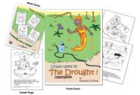 Drippy takes on The Drought! Color Book