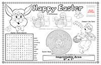 Easter Colorable Placemat with