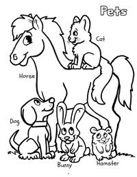 Early Years Really Big Coloring Book - pets