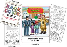 Earthquake Preparedness - Imprintable Coloring & Activity Book