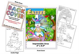 Easter Cottontail Imprintable Coloring & Activity Book