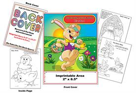 Easter Imprintable Coloring Books