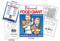 Edwards Food Giant Coloring Book