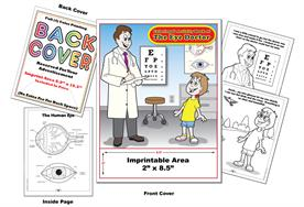 Eye Doctor - Imprintable Coloring & Activity Book