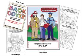 First Responders Imprintable Coloring & Activity Book
