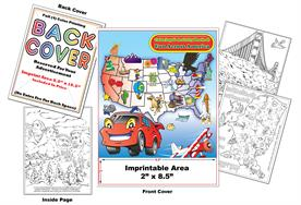 Fun Across America - Imprintable Coloring & Activity Book