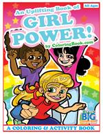 Girl Power Coloring and Activity Book