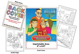 Hanukkah - Imprintable Coloring & Activity Book