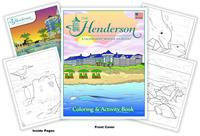 Henderson - A Salamander Beach & Spa Resort Coloring Book