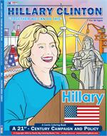Hillary Clinton Coloring Book Comic