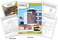 Home2 Suites by Hilton Coloring and Activity Book