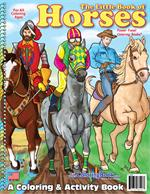 The Little Book of Horses Coloring Books
