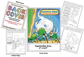 Hurricane Safety - Imprintable Coloring and Activity Book