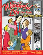 Official It's A Wonderful Life for Kids Coloring Book