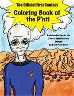 The Official First Contact Coloring Book of the P'nti