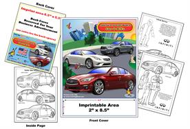 Infiniti Imprintable Coloring & Activity Book