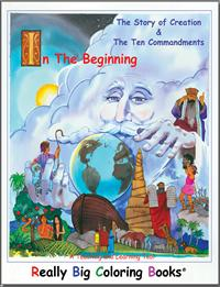 Ten Commandments Giant Coloring Pages