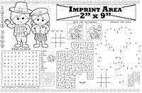 Irish Restaurant Imprintable Colorable Placemat