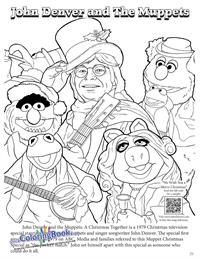 John Denver - Coloring Book - The Muppets
