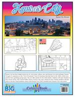 Kansas City Coloring and Activity Book - back cover