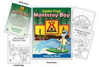 KOA - Santa Cruz Monterey Bay Coloring Book
