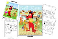 Kelli Roo The Kangaroo with the Golden Heart Coloring Book
