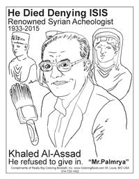 Khaled al-Assad - Free Online Coloring Pages