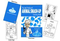 The Mad Professor's Animal Smash-Up Coloring Book