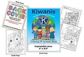 Kiwanis - Imprintable Coloring & Activity Book