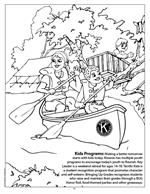 Kiwanis - Imprintable Coloring & Activity Book - inside page 3