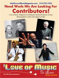 Love of Music St. Louis Magazine - Back Cover