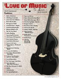 Love of Music St. Louis Magazine - Contents