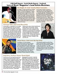 Love of Music St. Louis Magazine - Local Artists-Musicians