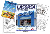 LaSorsa Auto Group Coloring & Activity Book