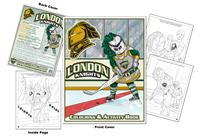 London Knights Hockey Colouring Book