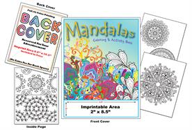 Mandalas - Imprintable Coloring & Activity Book