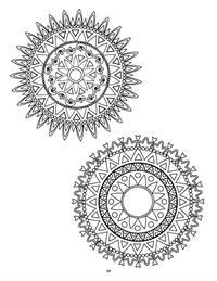 Mandalas coloring book 4