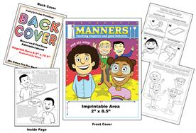 Manners - Imprintable Coloring & Activity Book