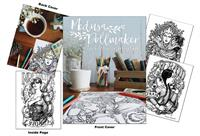 Medusa Dollmaker - Tee Villain Coloring Book
