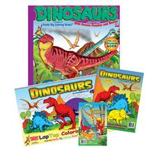 Dinosaurs Pack Coloring Books