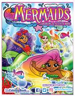 Mermaids Coloring and Activity Book