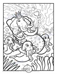 Mermaids Coloring Book 2