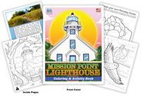 Mission Point Lighthouse Coloring & Activity Book
