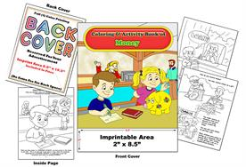 Money - Imprintable Coloring & Activity Book