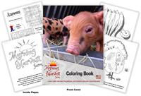 Morning Harvest Farm Coloring Book