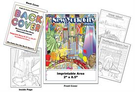 New York City - Imprintable Coloring & Activity Book