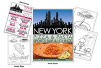 New York Pizza & Pasta Sports Bar & Lounge Coloring and Activity Book