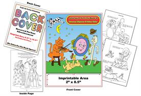Fairy Tales & Nursery Rhymes - Imprintable Coloring & Activity Book