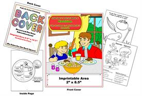 Libro de Colorear y Actividades de La Nurtricion Nutrition Coloring & Activity Book Imprintable